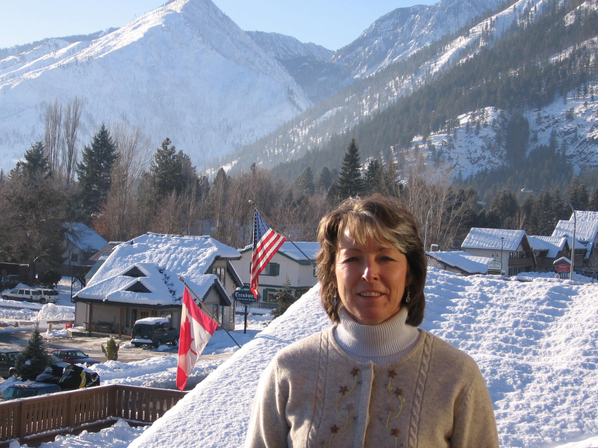 Julie In Leavenworth